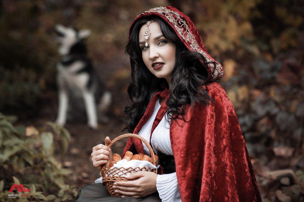 Фотосессия Красная шапочка