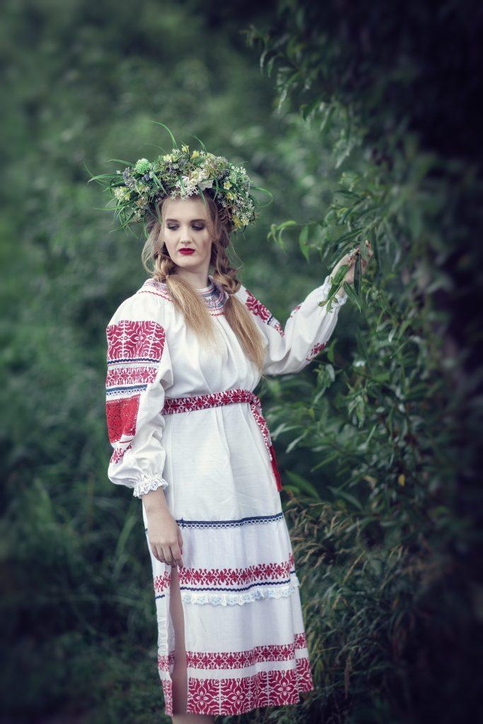 Русский костюм. фотосессия