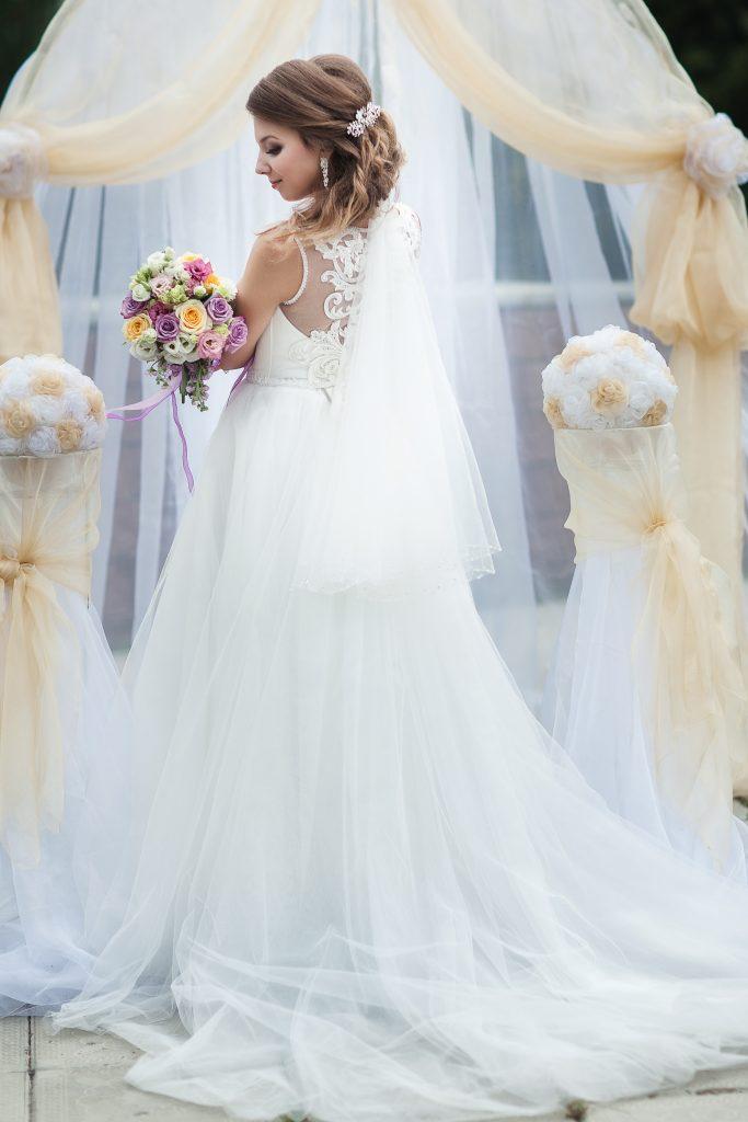 невеста. Свадебная фотография